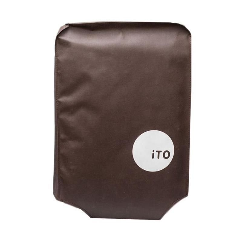 ITO Luggage Cover Pelindung Koper - Brown [26 Inch]