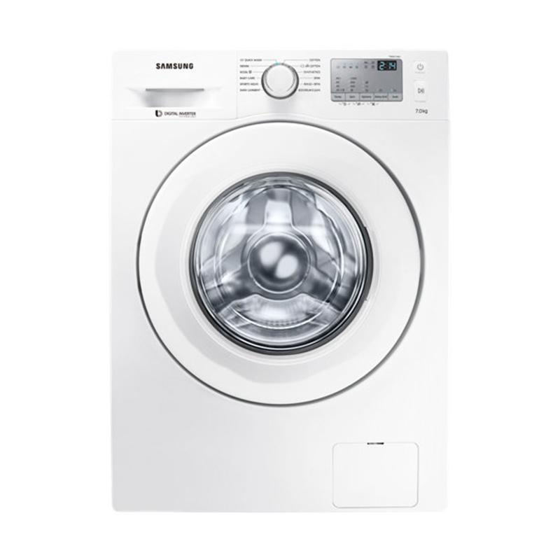 Samsung WW70J4233KW/SE Washing Machine with Diamond Drum Mesin Cuci  [7 kg/ Front Loading]