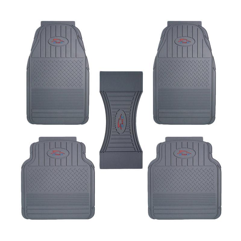 "Rubber Car Mats  Universal / Karpet Mobil Karet [Size L] ""OsanO"""