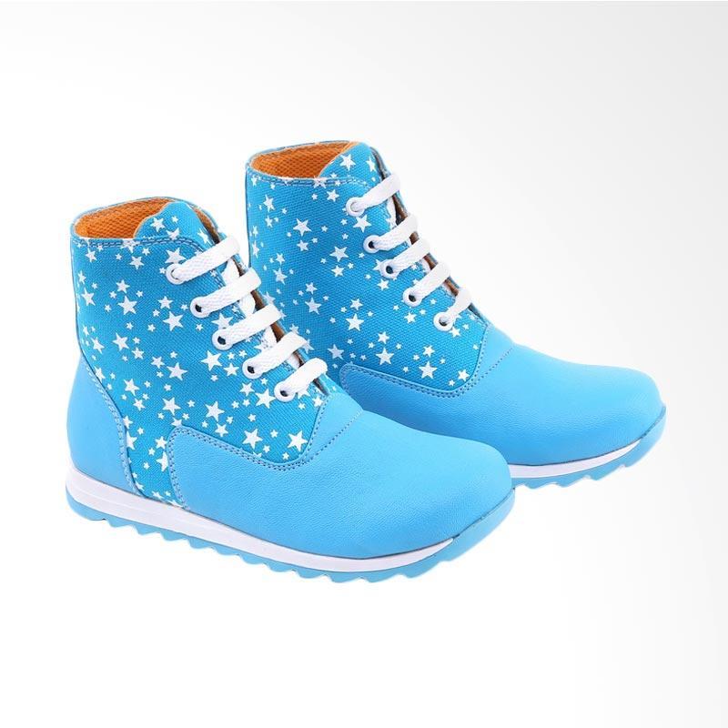 Garucci GMU 9086 Sepatu Kasual Anak Perempuan - Blue