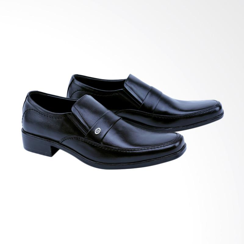 Garsel Sepatu Formal Pria - Hitam GL 0018