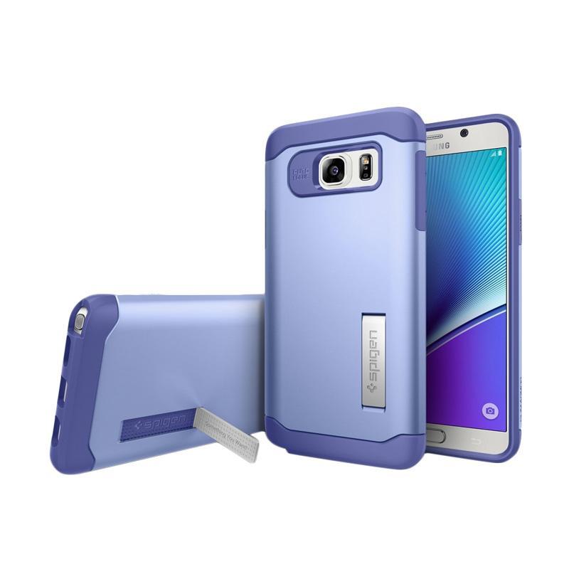 Spigen Slim Armor Casing for Samsung Galaxy Note 5 2015 - Violet