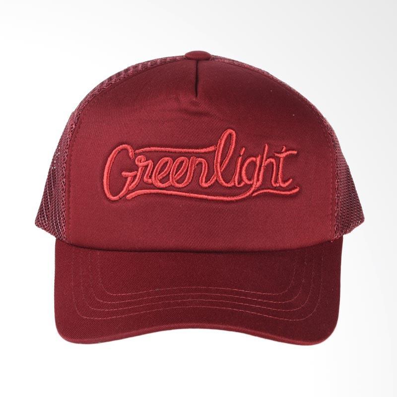 Greenlight 0309 Trucker Hat - Red 203091718