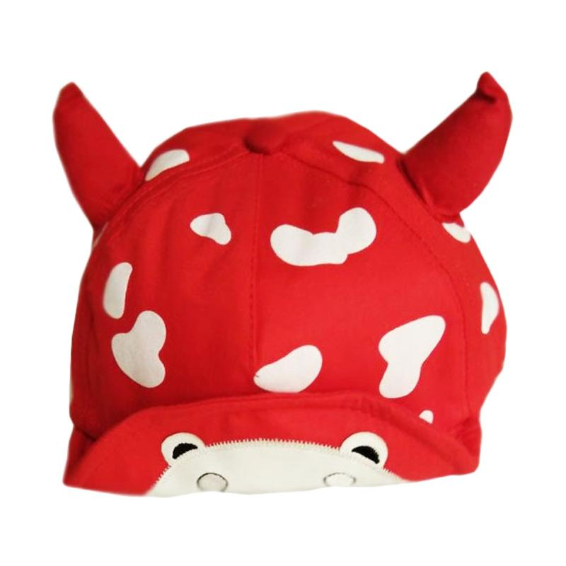 Chloebaby Shop S289 Love Cow Unisex Hats Topi