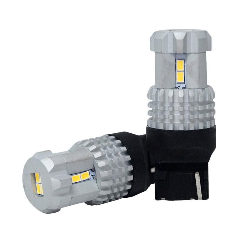 Autovision Microzen LED T20 7440 12-3020SMD Bohlam Lampu - White [12V / 12W ]