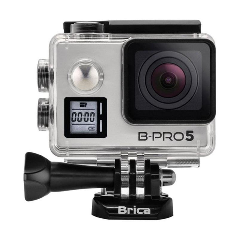 Brica B-PRO 5 Alpha Edition Mark IIS AE2s Combo Attanta Deluxe Action Camera - Silver