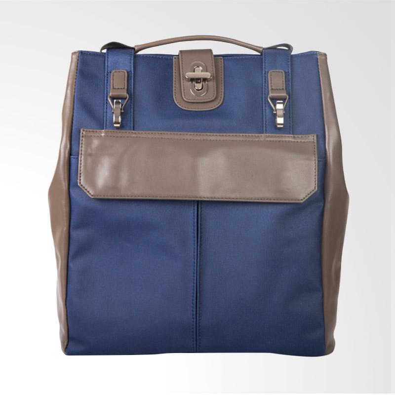 Amore Daniel Stark - 3-Way Business Backpack [14Inch] - Navy Blue