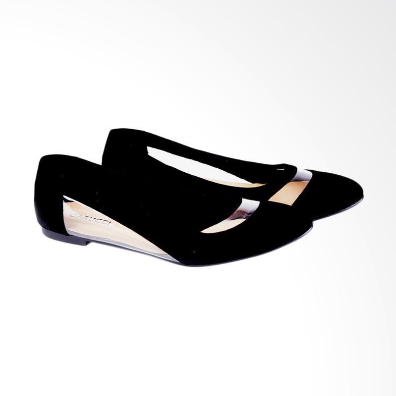 Garucci GDC 6115 Ballerina Shoes Wanita - Black
