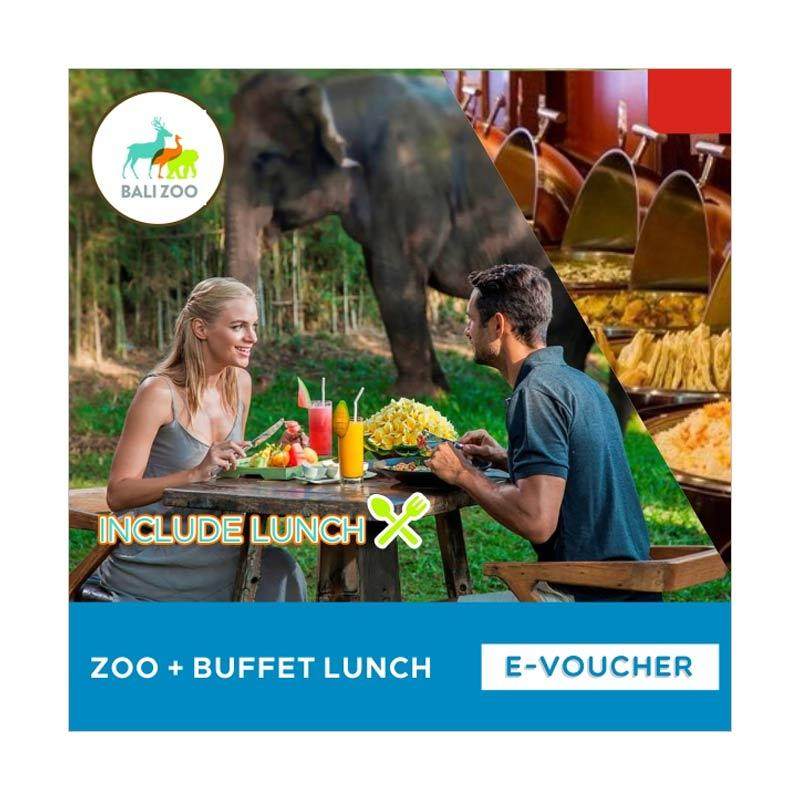 Bali Zoo Park Zoo With Buffet Lunch E-Voucher [Child]
