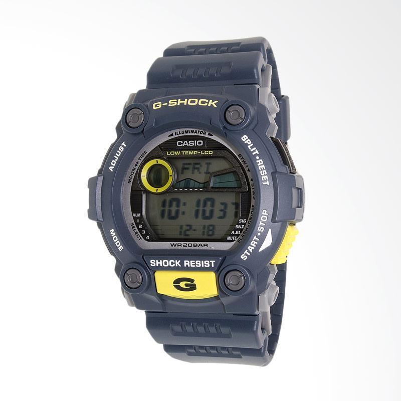 CASIO Men's G-Shock Blue Resin Digital Dial Watch Jam Tangan Pria G-7900-2DR