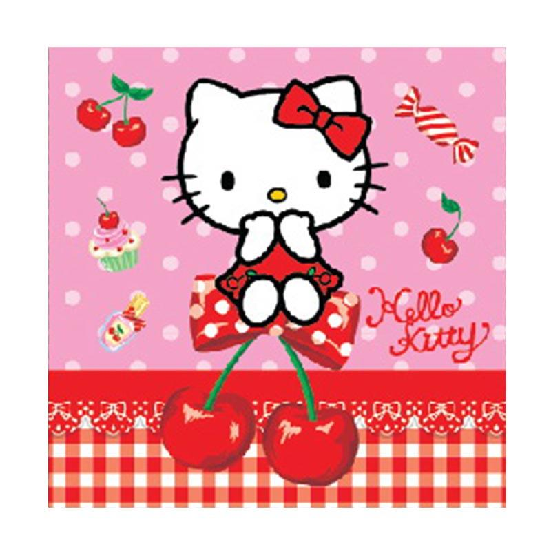 Buy 1 Get 1 - Something Sweet CB1212-KT001-SS Hello Kitty Sweet Cherry Pink Cake Box [1 pack isi 6 pcs]