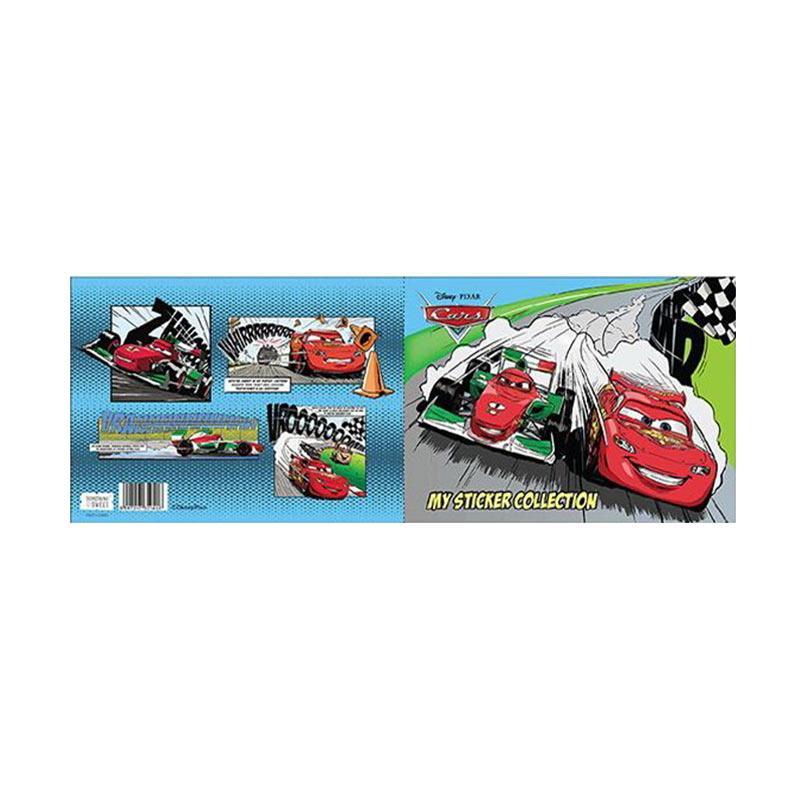 Something Sweet STB 2115-CR001 Cars Lightning Mcqueen & Francesco Sticker Book