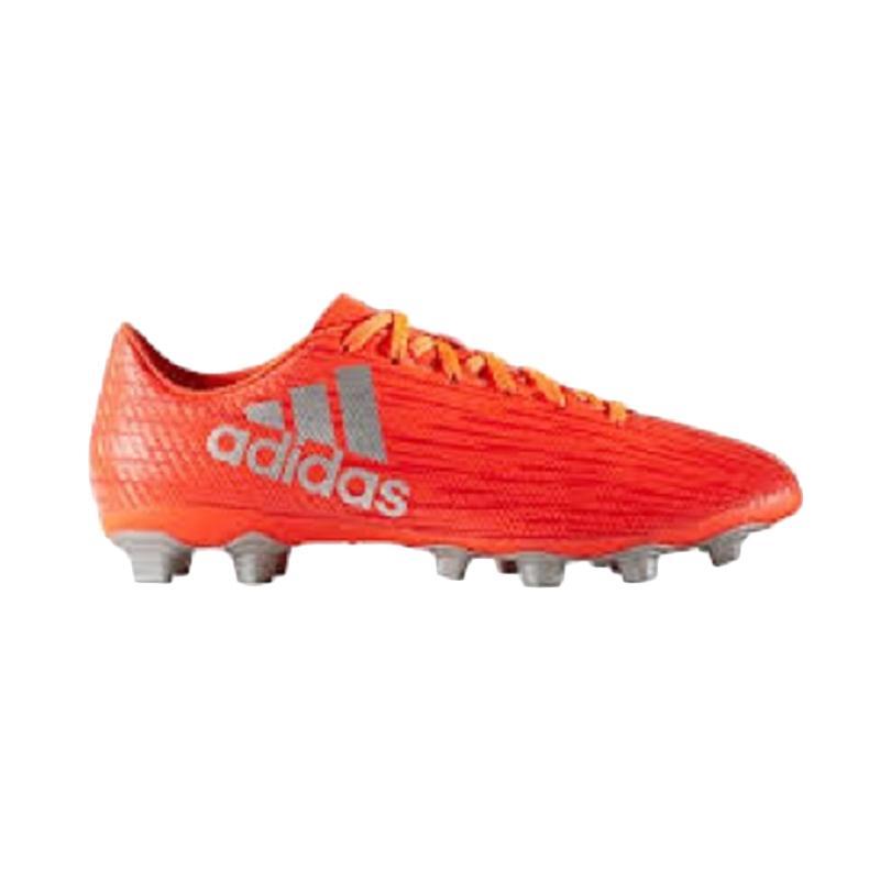 adidas X 16.4 FxG Sepatu Sepakbola Pria - Red Orange