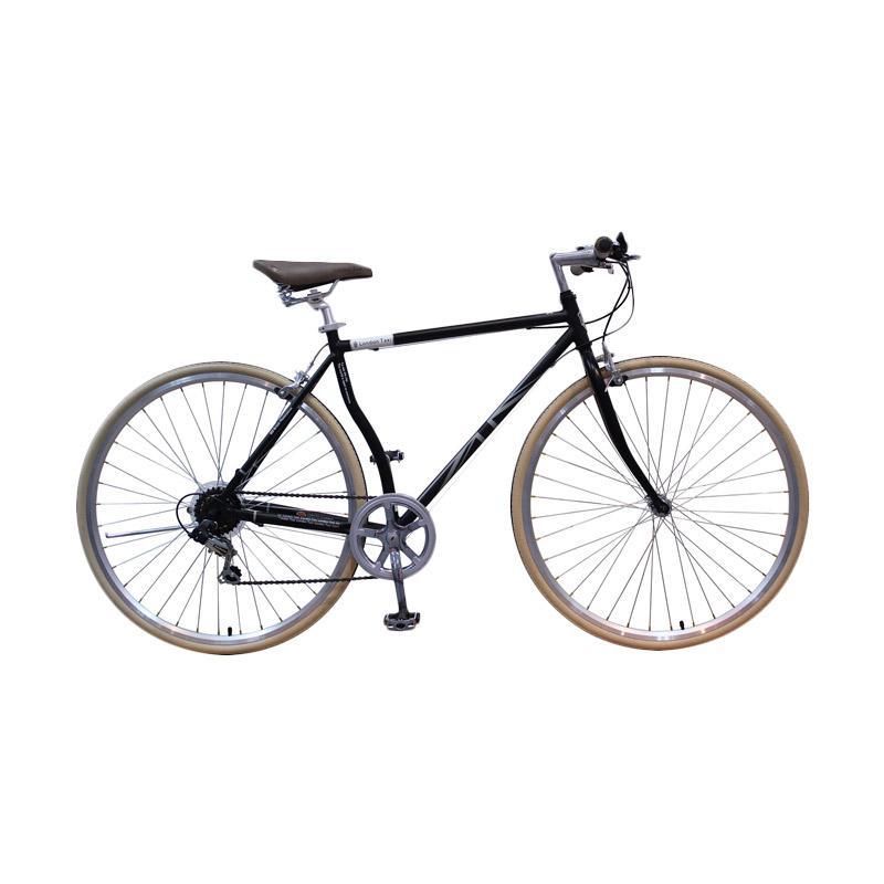 harga London Taxi Roadbike 700 C 6 Speed Sepeda - Black [Jadetabek] Blibli.com