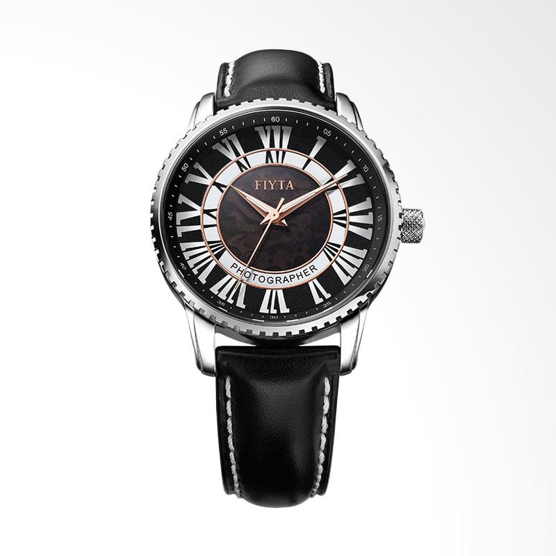 FIYTA Photographer Men Jam Tangan Pria - Black GA8236.WBB