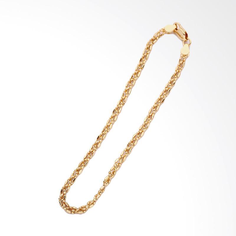 Emery  Gelang Emas Kadar 75 - Gold Bracelet-WHIZLIZ