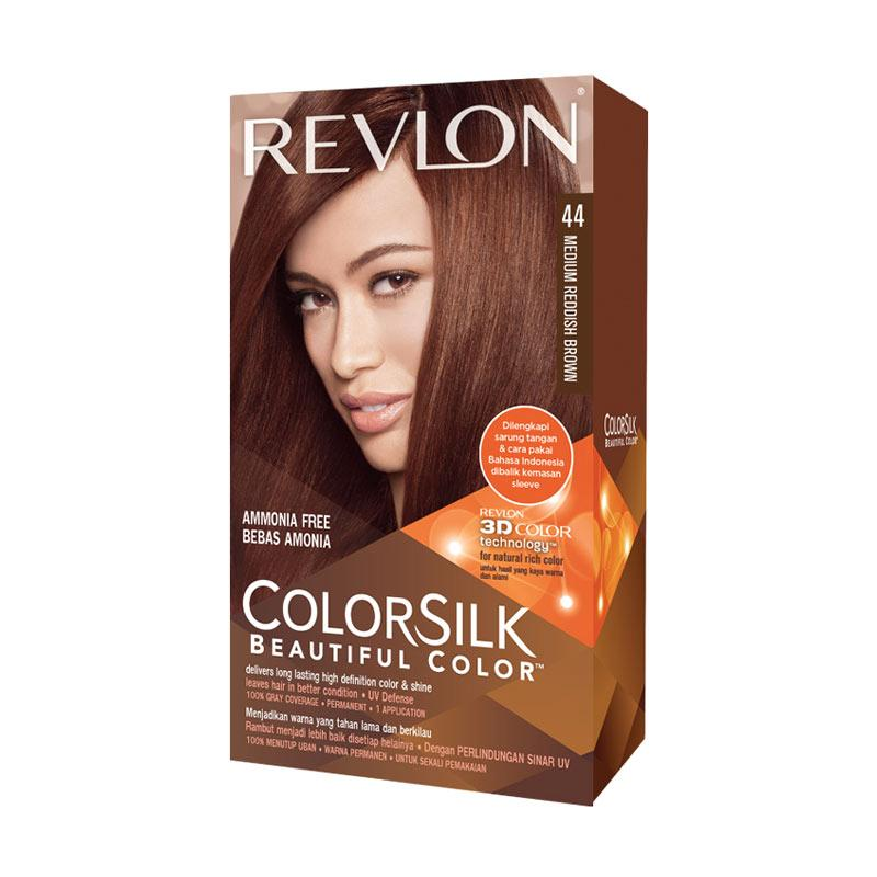Revlon Colorsilk Hair Color Pewarna Rambut - Medium Reddish Brown 44