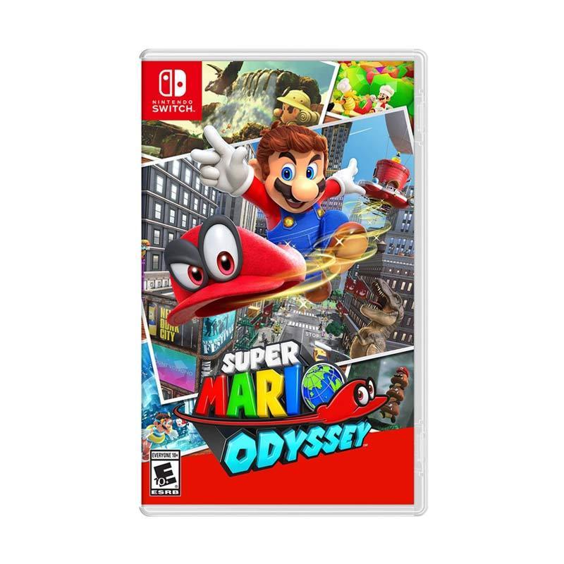 Nintendo Switch Super Mario Odyssey DVD Game