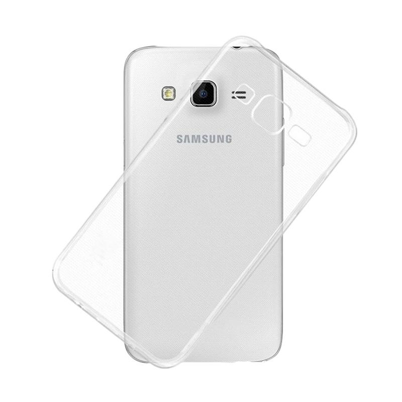 Ume Ultrathin Silicone Jellycase Softcase Casing for Samsung Galaxy J7 J700F - Transparan
