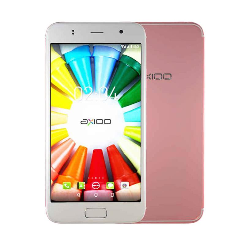 Axioo M5 Plus Picophone Smartphone - Rose Gold [RAM 1GB/ROM 8GB]