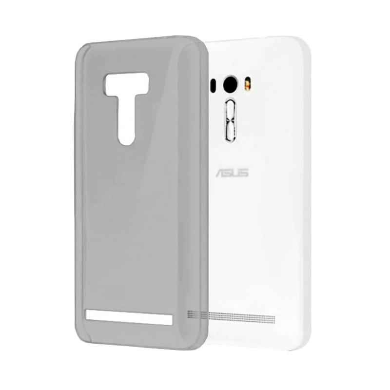 Ume Ultrathin Silicone Jelly Softcase Casing for Asus Zenfone Selfie ZD551KL - Hitam