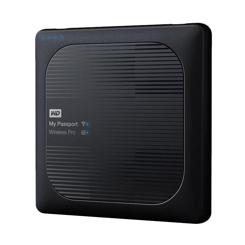 WD My Passport  Wireless Pro 2TB - WDBP2P0020BBK - Portable Hard Disk External