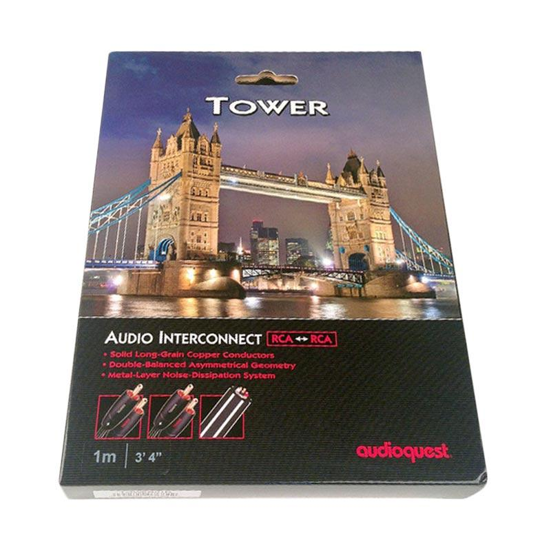 Audioquest Tower RCA to RCA Cable [1 m]