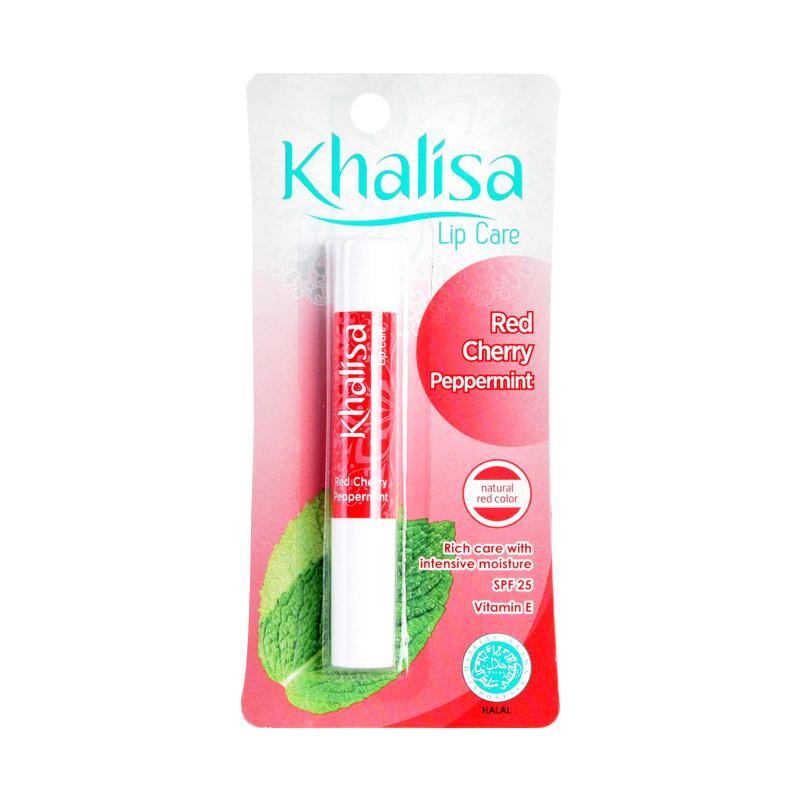 Khalisa Red Cherry Peppermint Lip Balm