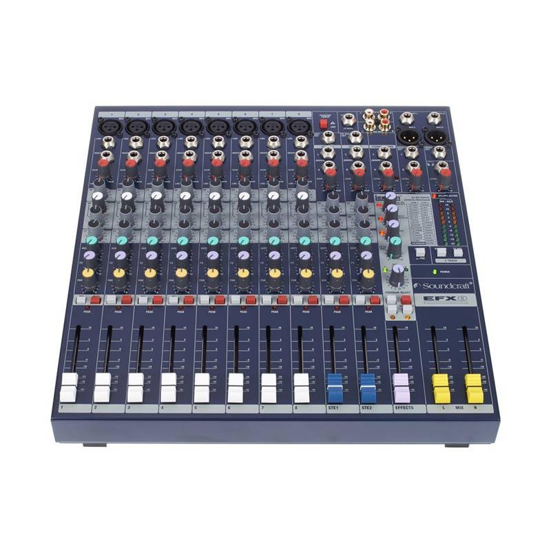 harga Soundcraft EFX 8 Mixer audio - Black [8 Channel] Blibli.com