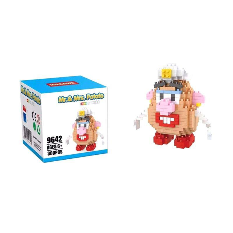 HSANHE 9642 Mrs Potato Head Mainan Blok & Puzzle