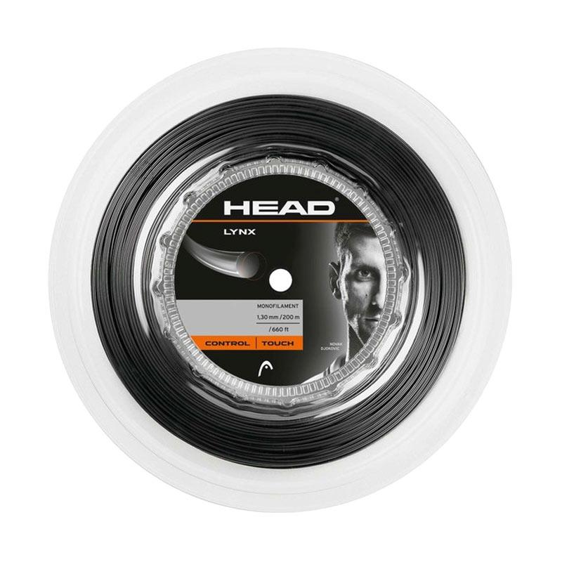 harga Head LYNX Reel Senar Raket Tenis - Black Metalic [18 g] Blibli.com