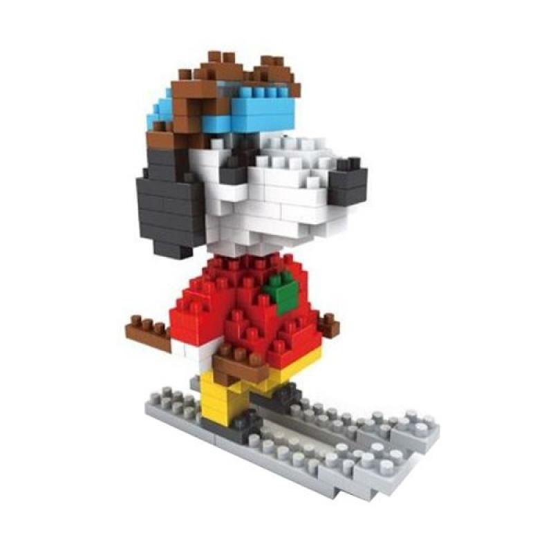Cogo 1111 Skiing Mainan Blok & Puzzle