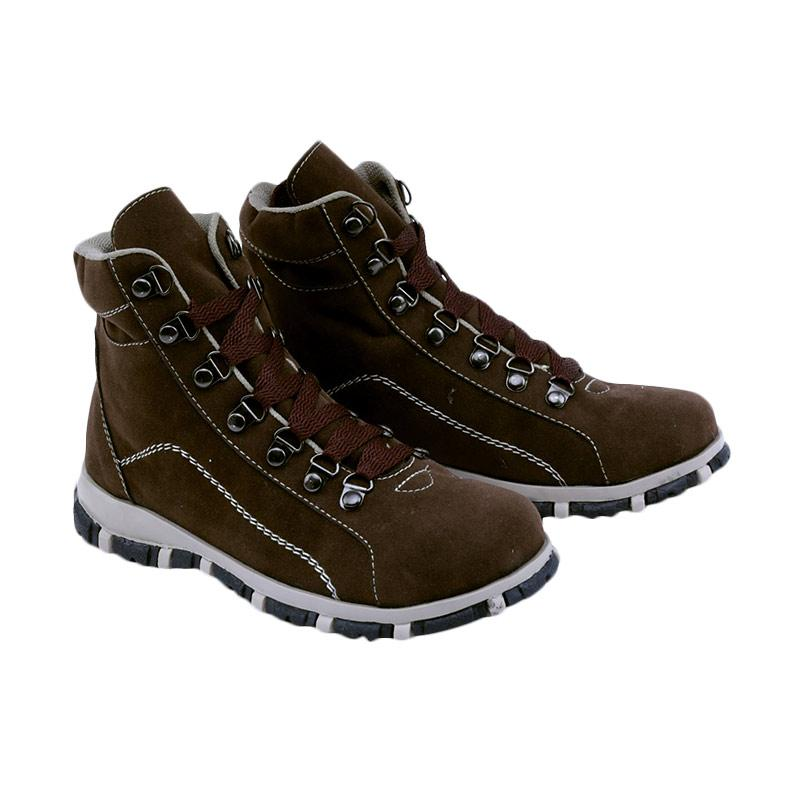 Garsel GMU 9532 Sneakers Shoes Sepatu Anak Laki - Laki - Cokelat