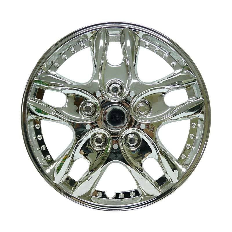SIV Sport Wheel Cover 426 151 Dop Roda Mobil - Chrome [15 Inch]
