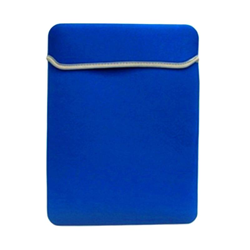 Cooltech Reversible Neoprene Softcase Laptop Sleeve for MacBook 11 or 12 Inch - Benhur Blue