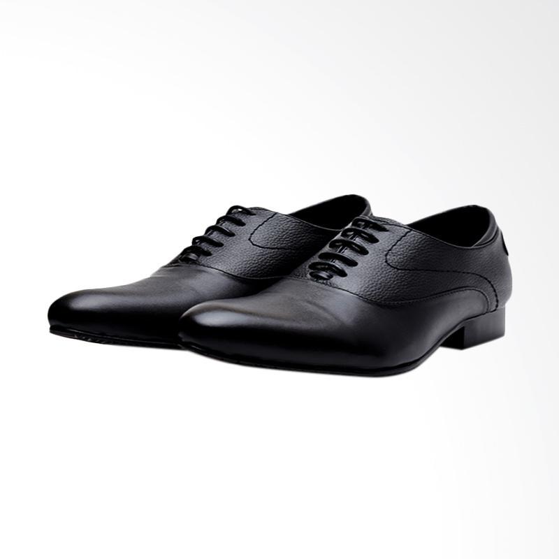 harga Wetan Shoes Pantofel Premium Sepatu Formal Pria - Hitam [Big Size] Blibli.com