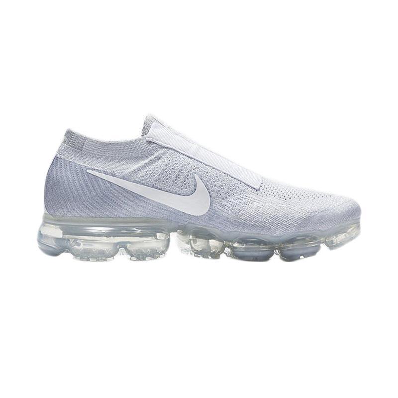 NIKE Air Vapormax Flyknit Laceless SE Sepatu Olahraga Pria - Platinum