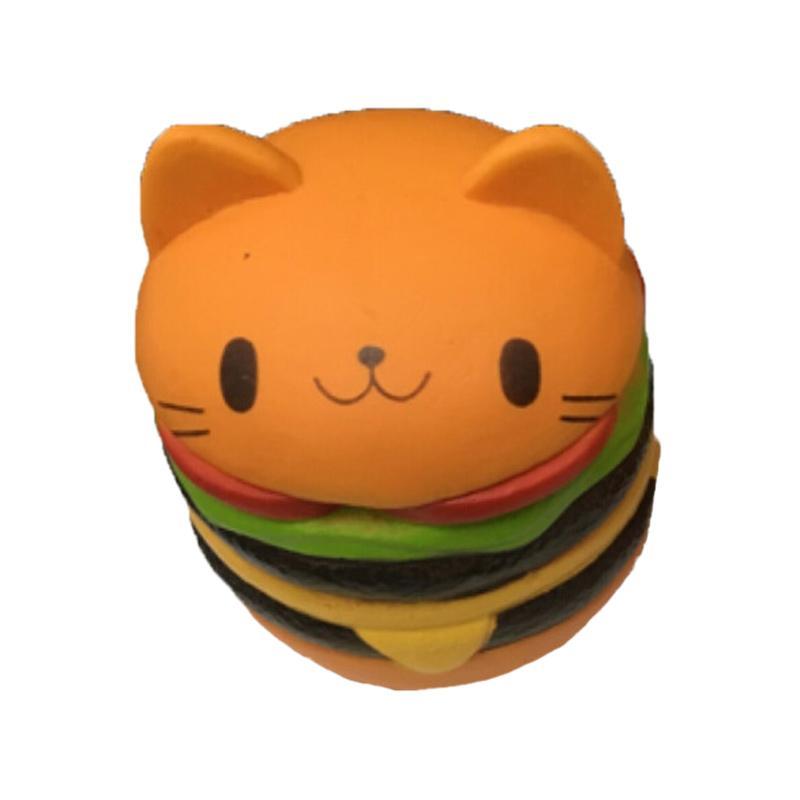 Mainan Edukasi Squishy Hamburger I Love Hamburger Mainan Anak