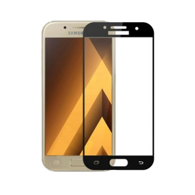 Tempered Glass [3D] Screen Protector for Y37 - Black [Full Screen]