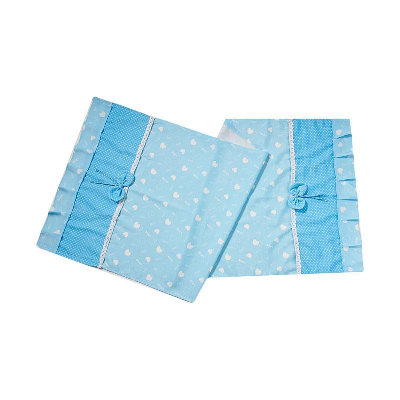 Tren-D-home QS01 Fridge Cover - Biru [130 x 55 cm]