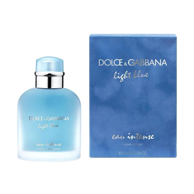 Dolce & Gabbana Eau de Parfum Light Blue Eau Intense Pour Homme Parfum Pria [100 mL]