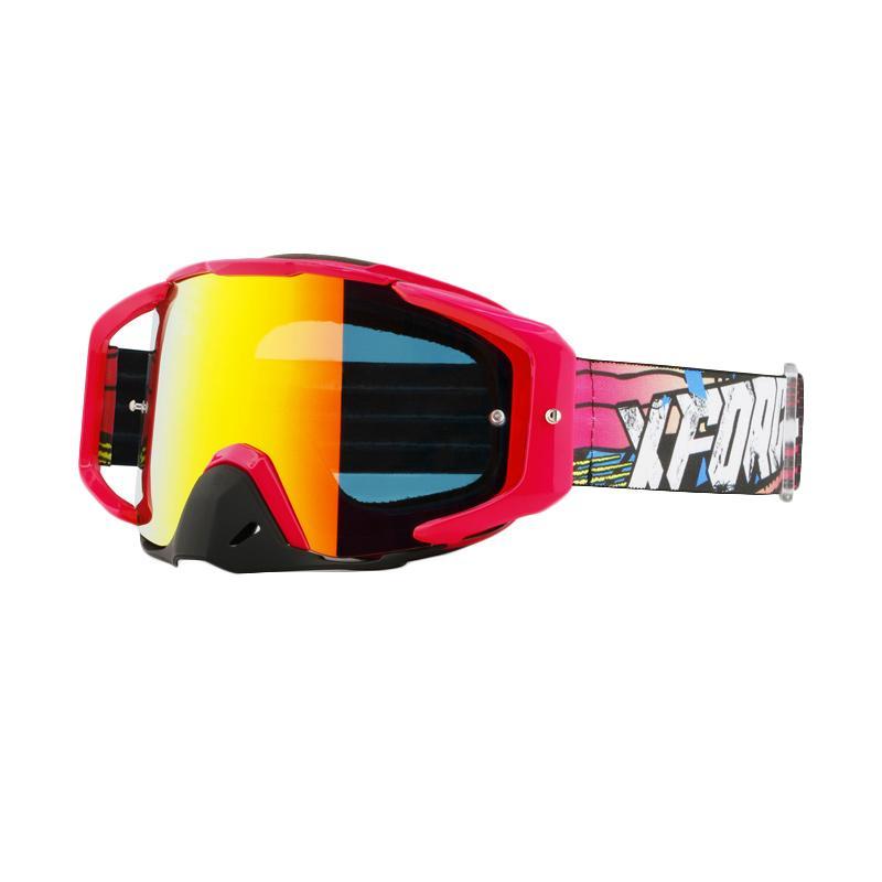 Xforce® Assassin Moto Cross Goggle - Pink