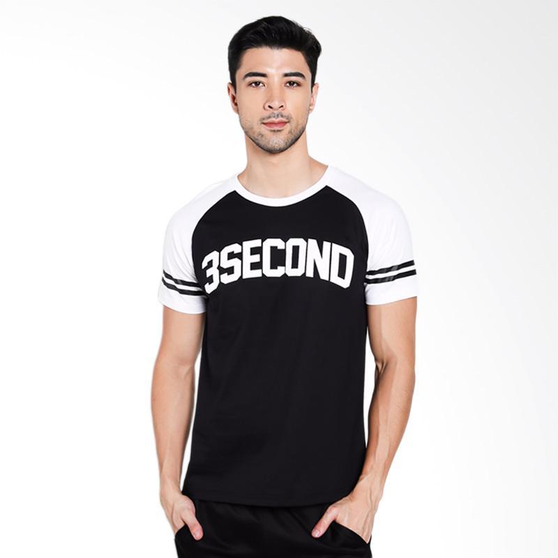 3SECOND Men 2412 T-Shirt Pria - White [124121712]