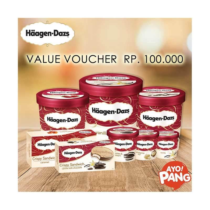 Haagen Dazs Voucher Value Rp 100 000 Brand Haagen Dazs 5 ulasan produk