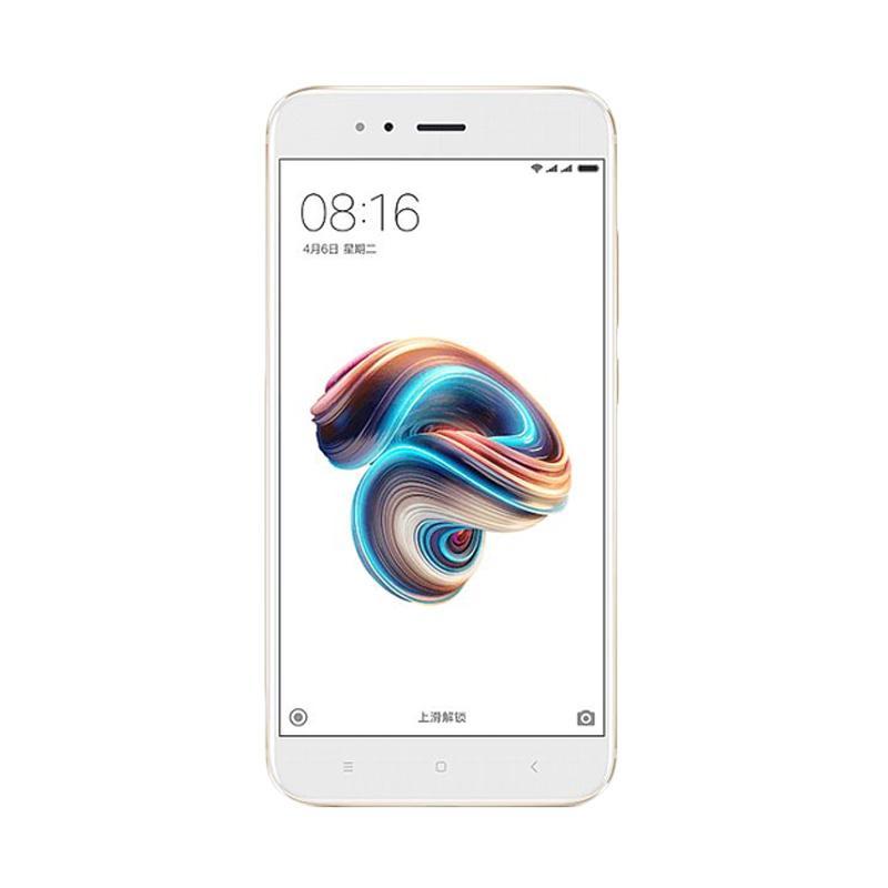 Jual Xiaomi Mi 5X Smartphone – Gold [64GB/4GB]