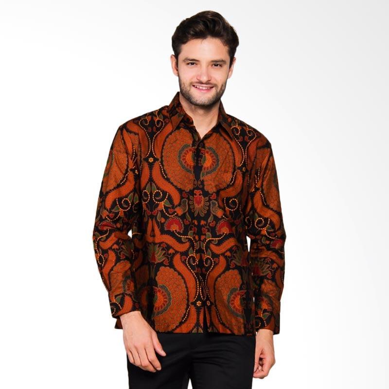 Adiwangsa Model Baju Slim Fit Kemeja Batik Modern Pria [031]
