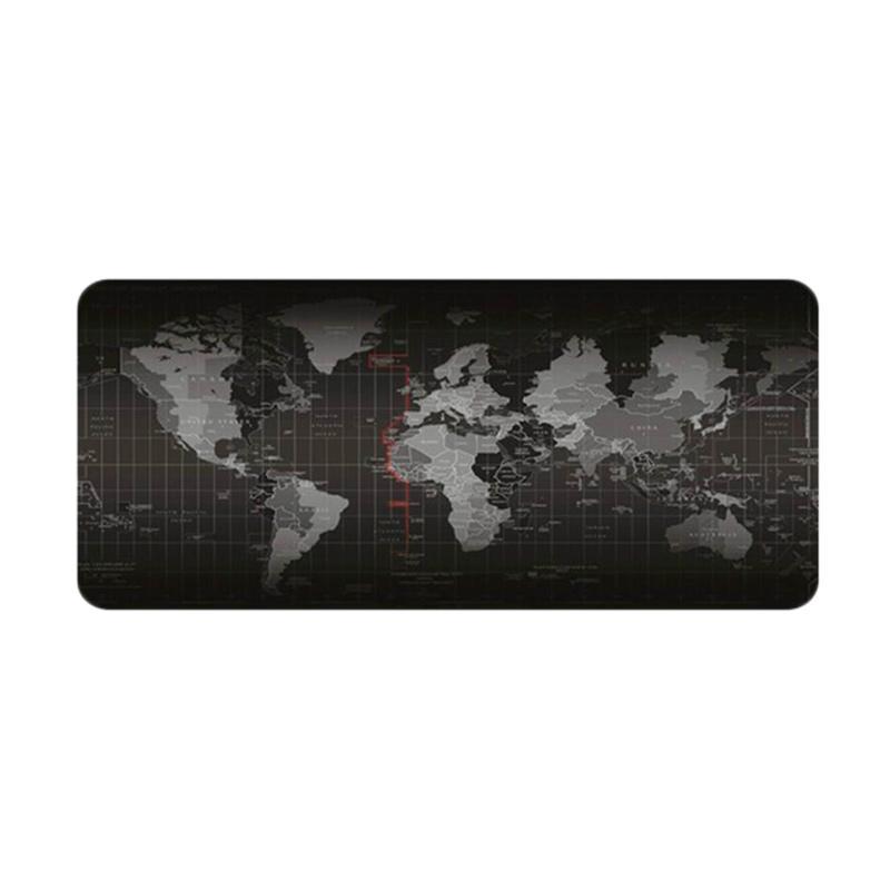 Jual Selft Motif Peta Dunia Gaming Mouse Pad Black 300 X 600 Mm Online Januari 2021 Blibli
