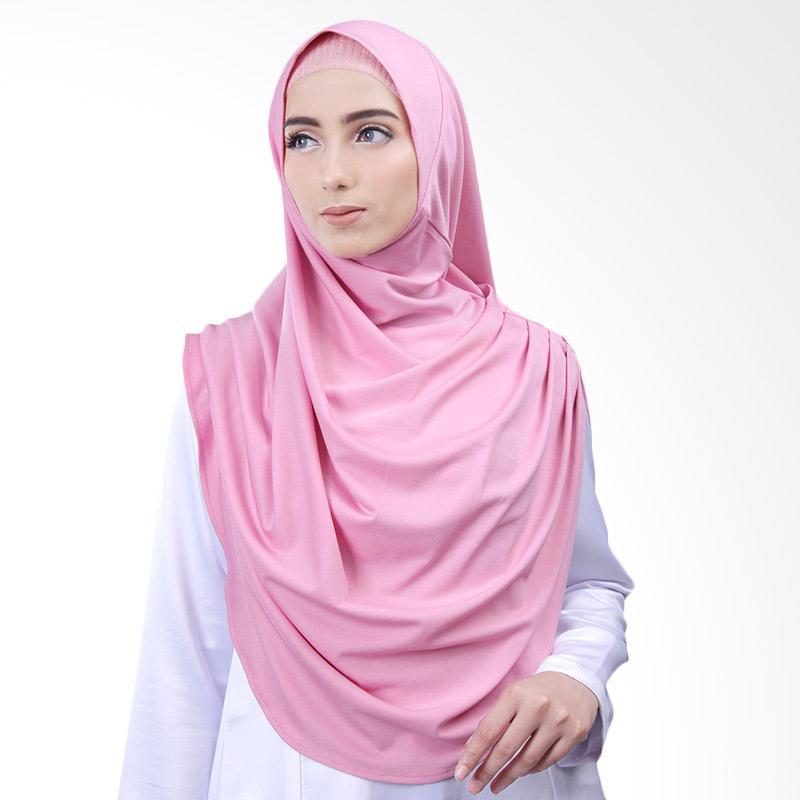 Cantik Kerudung Nazwa Jilbab Instant - Dusty Pink No.2