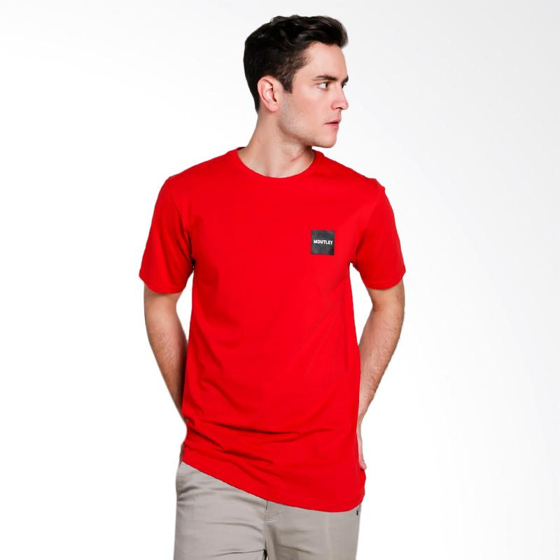Moutley Male T-Shirt Atasan Pria - Red