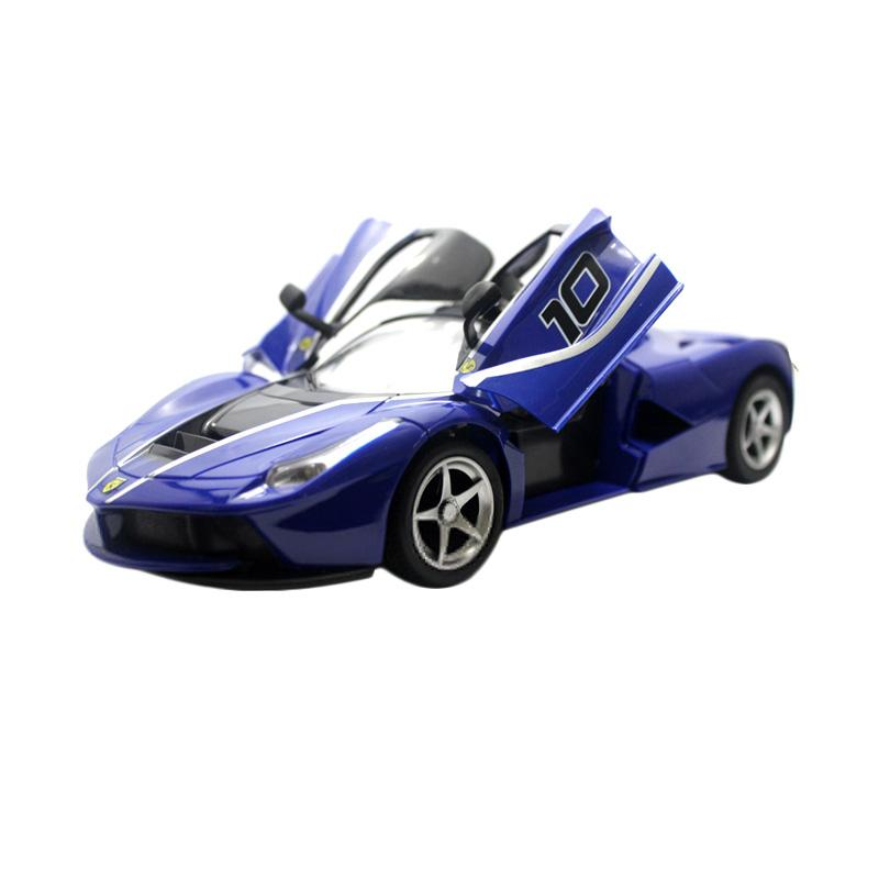 Yoyo La Ferrari Rally Car RC Mobil Remote Control - Blue